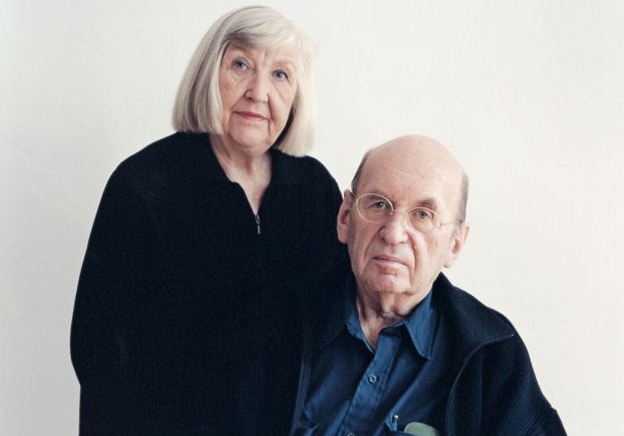 Portret Bernd en Hilla Becher ©Laurenz Berges