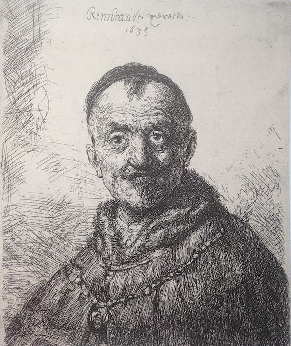 Rembrandt, De eerste oosterse kop, 1635