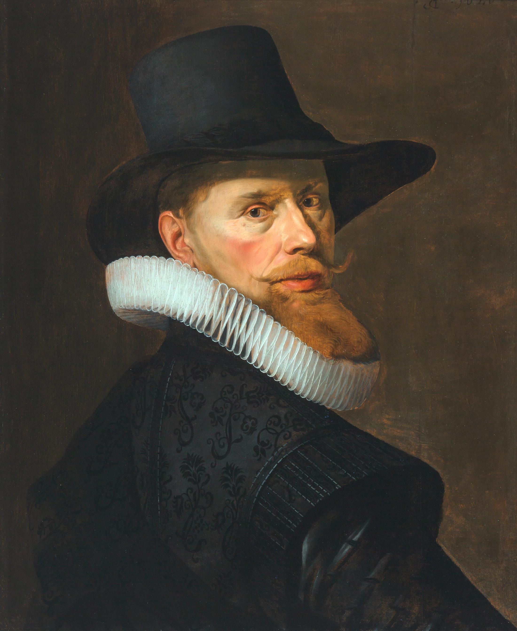 Nicolaes Eliasz. Pickenoy, Portret van de Wijnhandelaar Dirck van Dans (1584-1678)