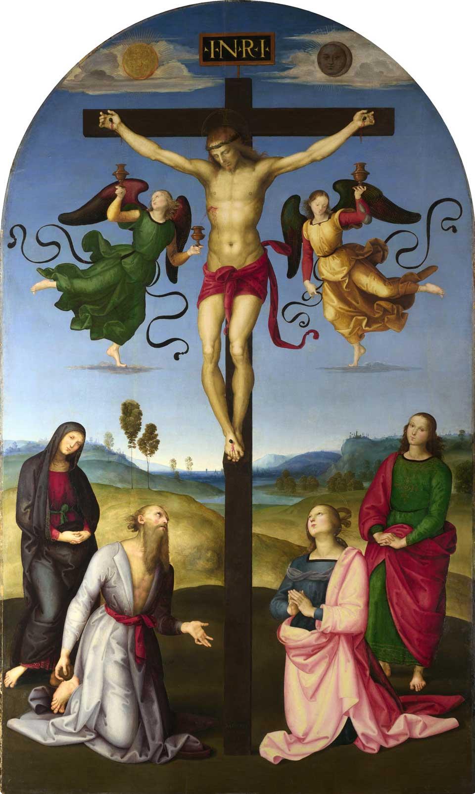 'Crocefissione', Raffaello