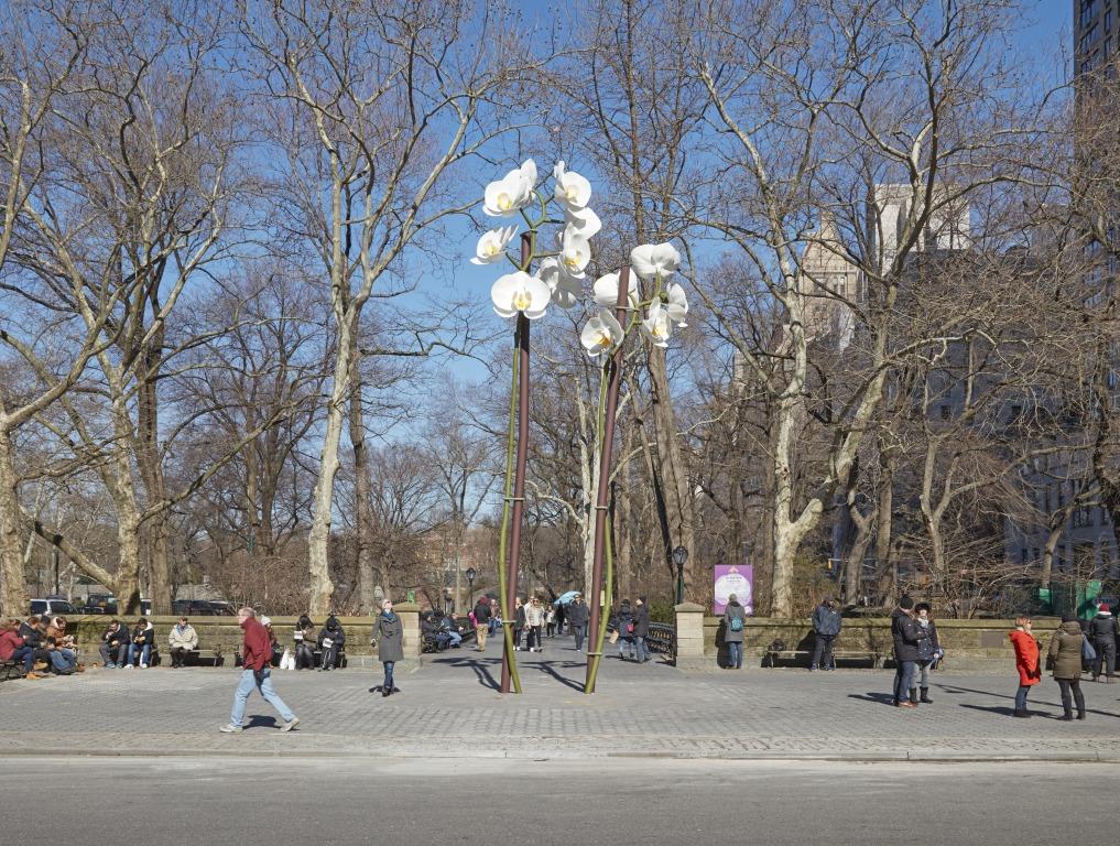 Isa Genzken Central Park