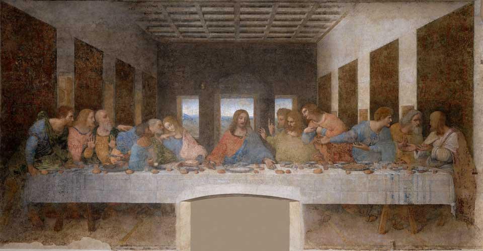 'Het laatste avondmaal', Leonardo da Vinci