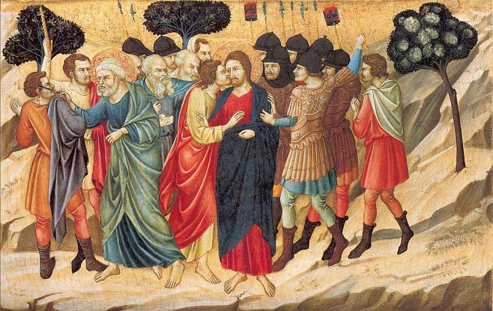 'Het verraad van Christus', Ugolino di Nerio