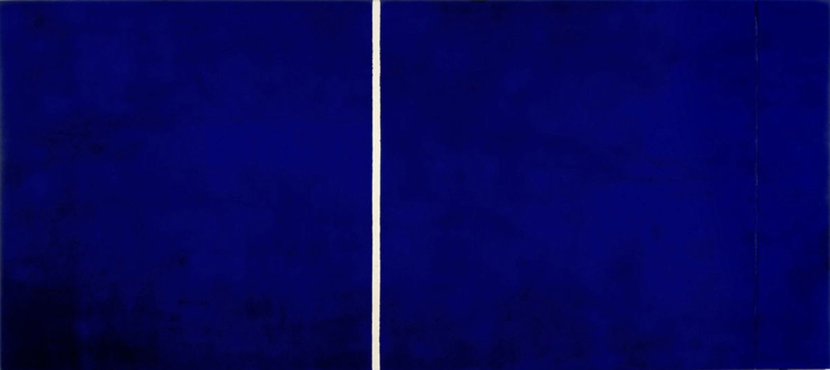 Barnett Newman, Cathedra (1951), Collectie Stedelijk Museum Amsterdam