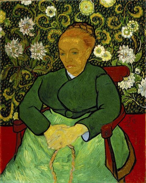 Vincent van Gogh, La Berceuse (1889), Collectie Van Gogh Museum