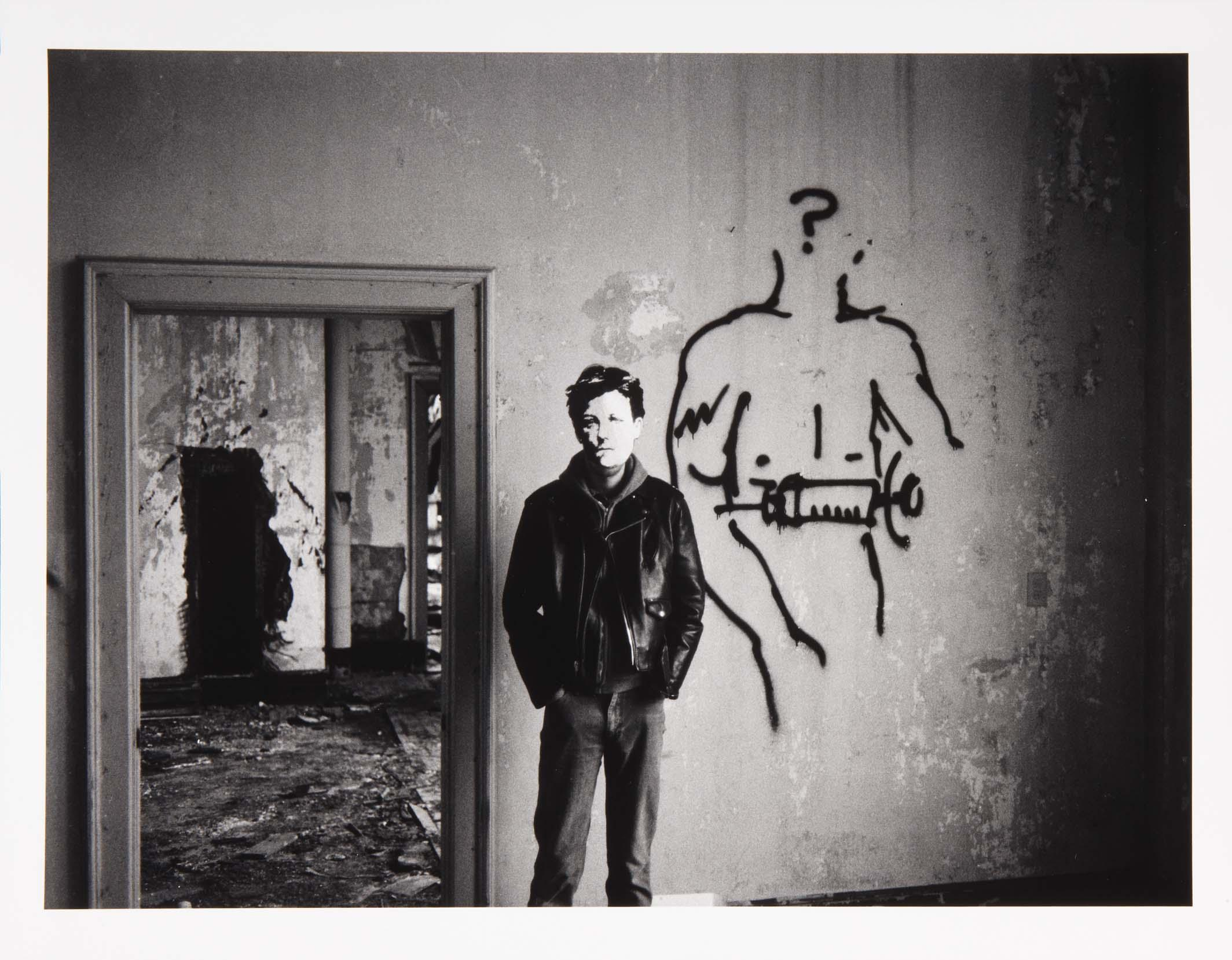 David Wojnarowicz, Arthur Rimbaud in New York (1978-1979). Courtesy of PPOW Gallery, NY and the Estate of David Wojnarowicz
