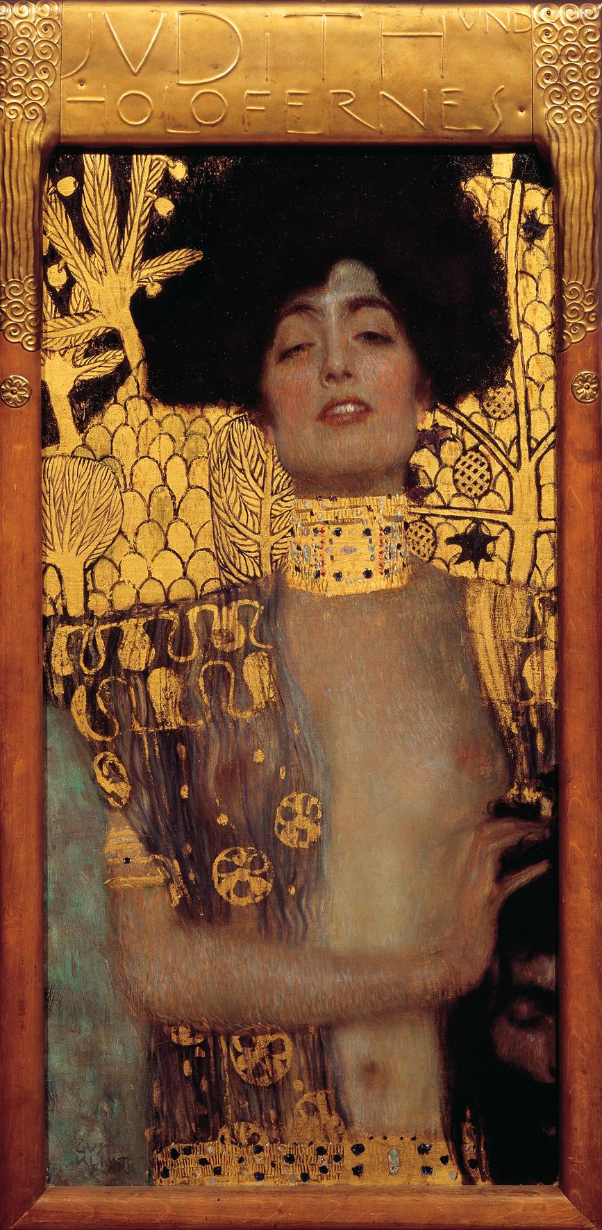 Gustav Klimt, Judith 1, 1901. Collectie Österreichische Galerie Belvedere, Wenen.