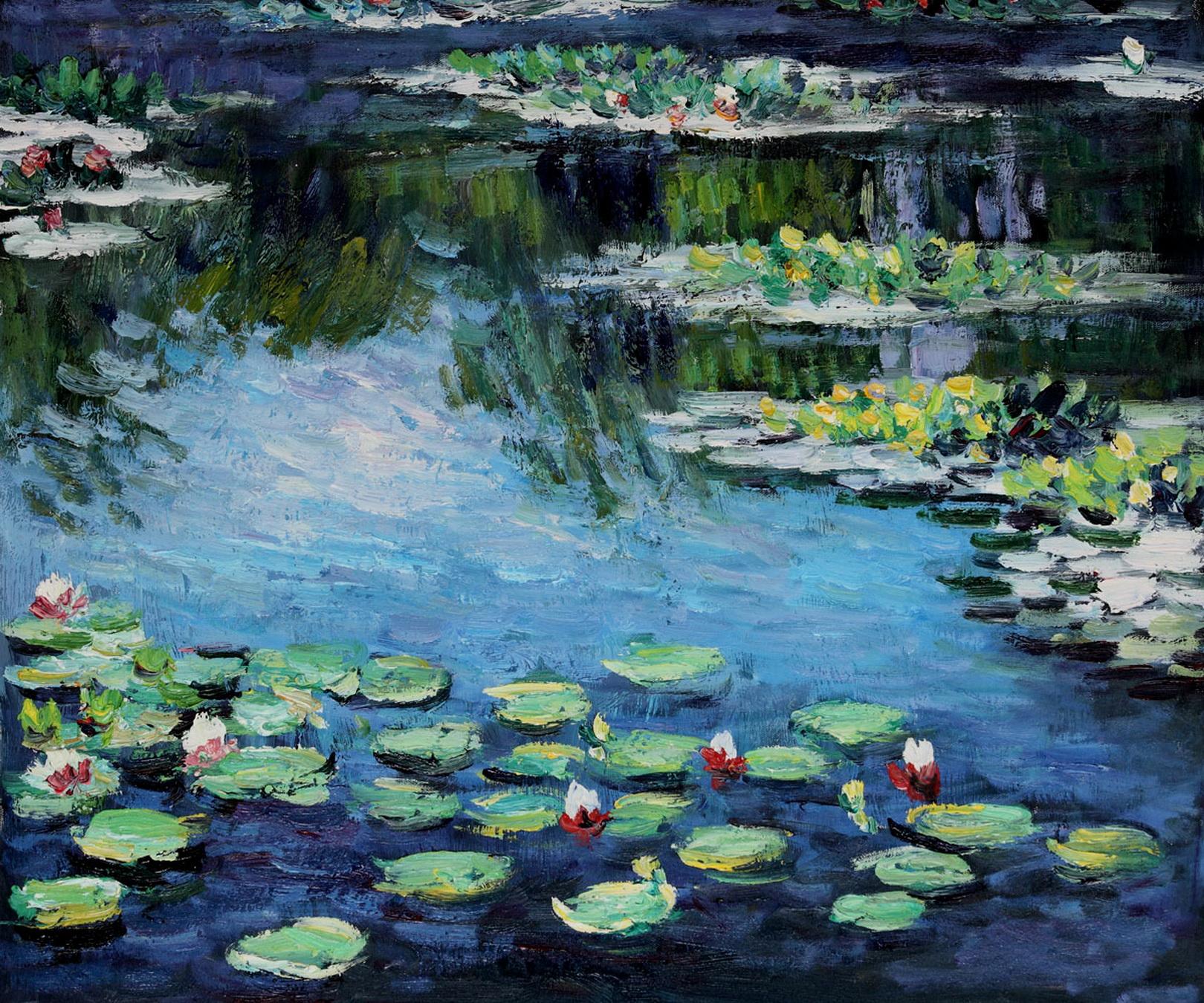 Monet lelies