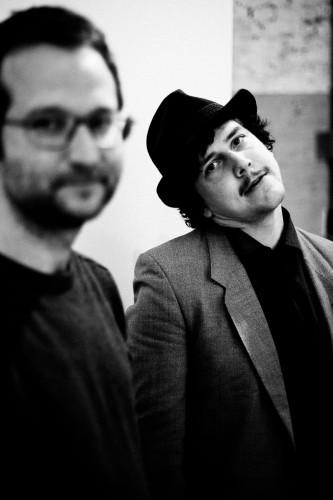 Tjalling Mulder en Dirk Comello © Sanne Glasbergen