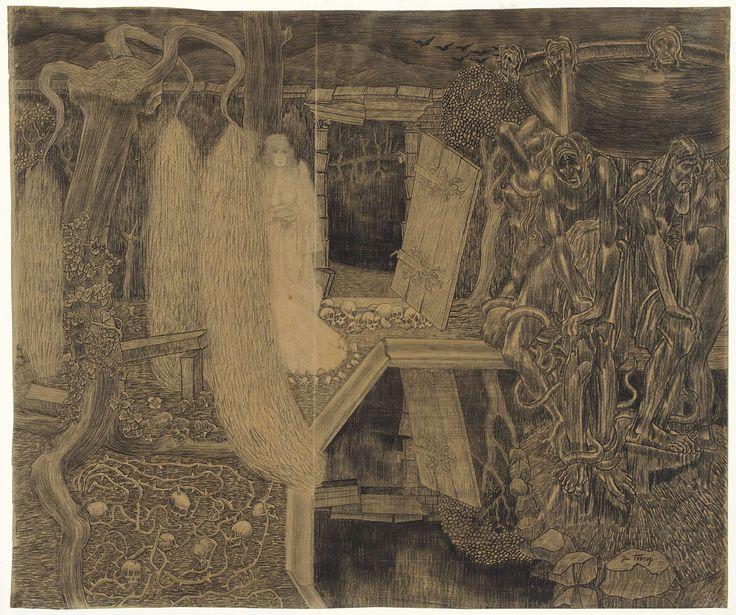'Tuin der weeën', Jan Toorop