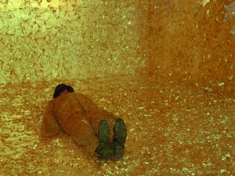 James Lee Byars, The Death of James Lee Byars, 1994
