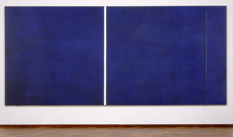 Barnett Newman, Cathedra, 1951. Collectie Stedelijk Museum, Amsterdam. Copyright of Pictoright, Amsterdam 2004.