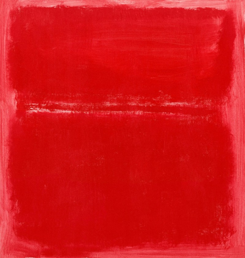 Mark Rothko, Untitled, 1970. National Gallery of Art, Washington
