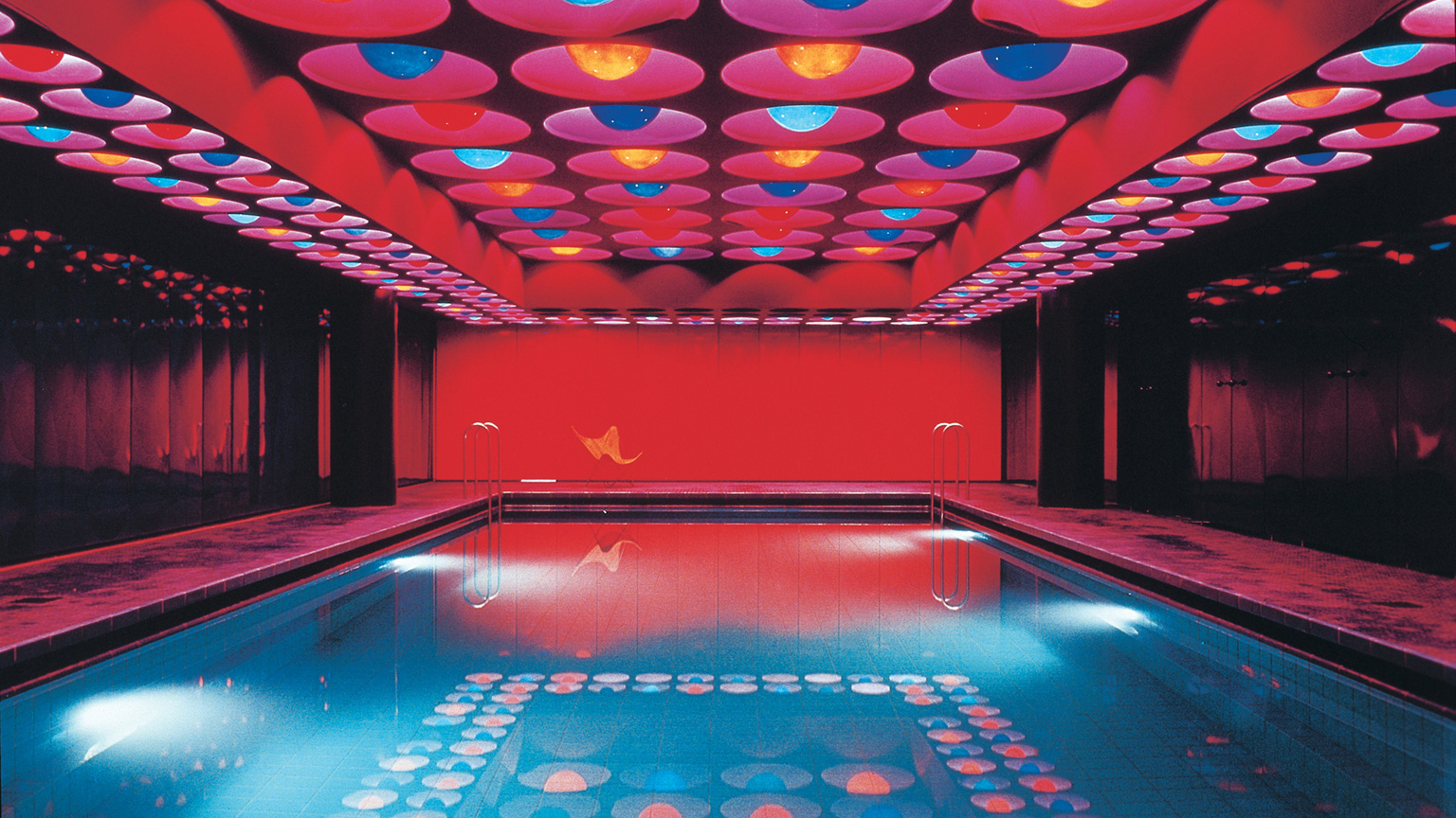 Verner Panton, Swimming Pool (1969)