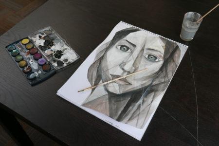 Kunstenaars tussen de vluchtelingen