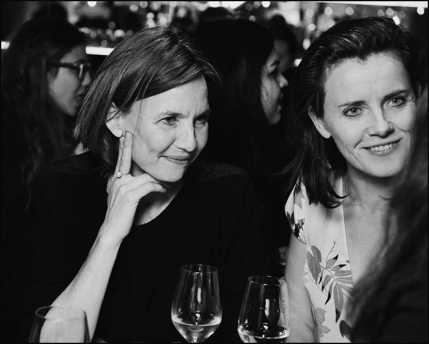 Cécile en Nicole Ex van See All This. Foto Reinier RVDA