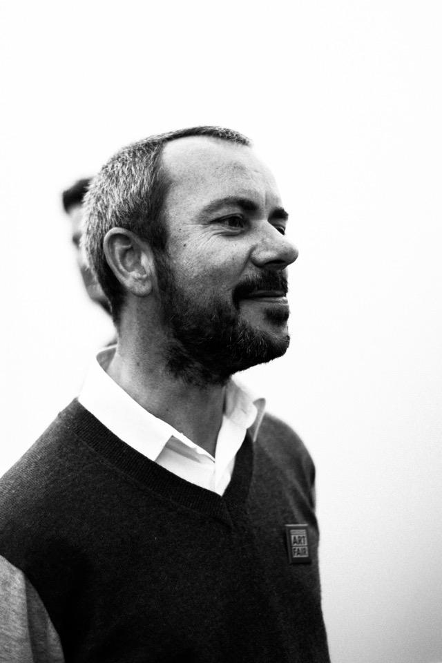 Twan Janssen, de vorige winnaar van het Cultuurfonds Mode Stipendium