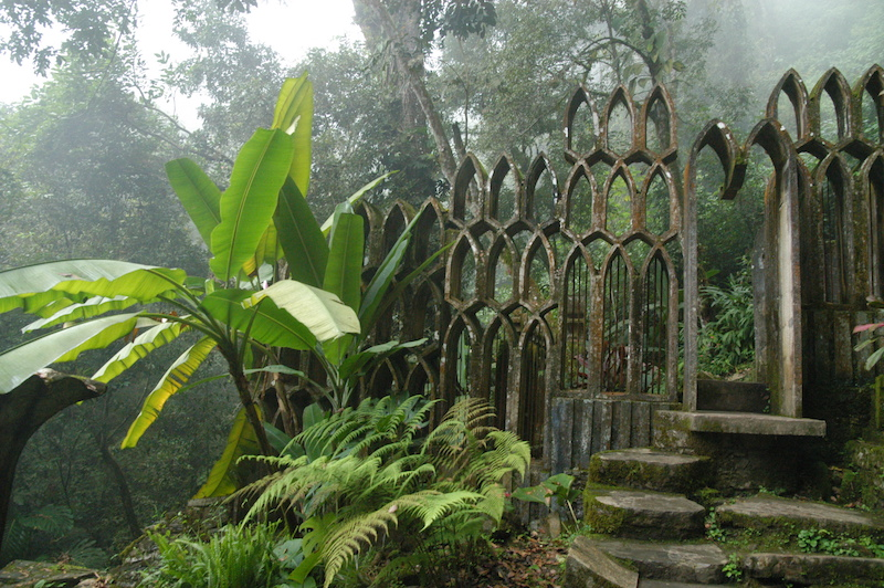 Edward James, Las Pozas