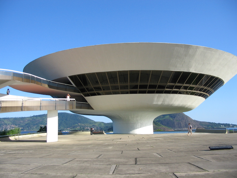 Museu de Arte Contemporânea, Niteroi, Brazilië