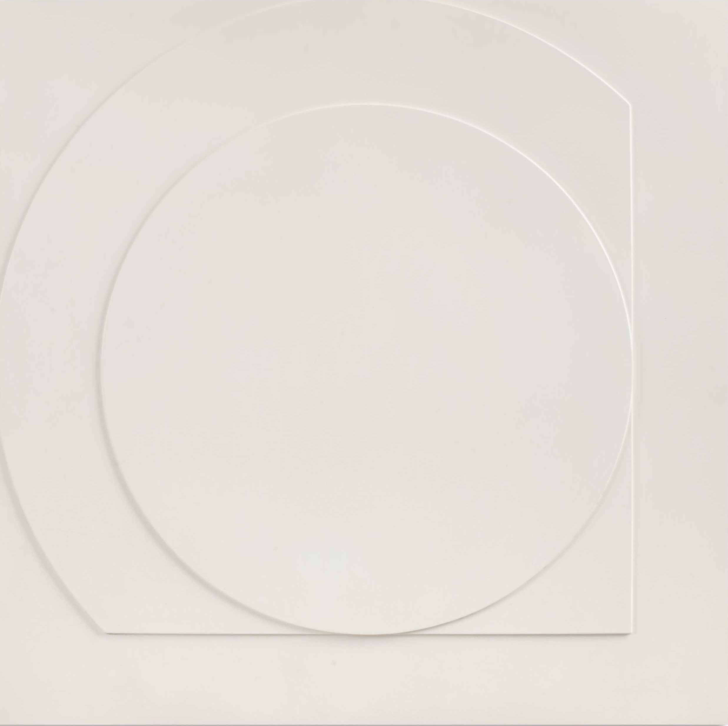 Ad Dekkers, Vierkant en cirkel in overgang, 1967, Borzo Galerie