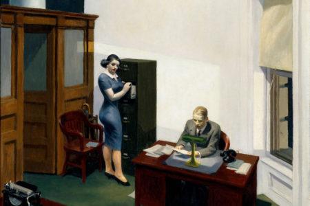 De kantoren van Edward Hopper