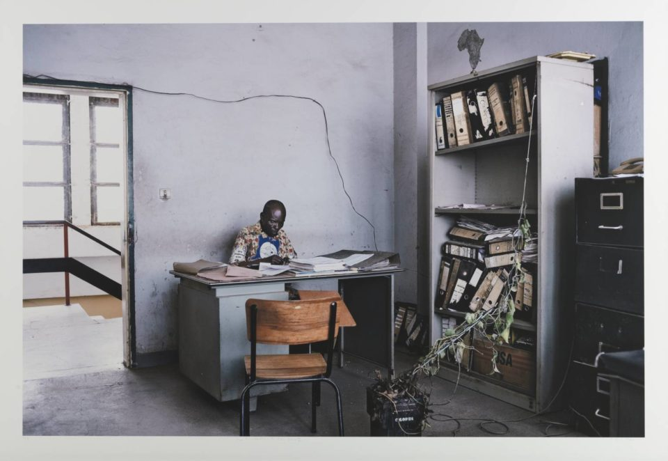City Hall Offices, Lubumbashi, DR Congo 2008 Guy Tillim born 1962 Purchased 2010 http://www.tate.org.uk/art/work/P79829