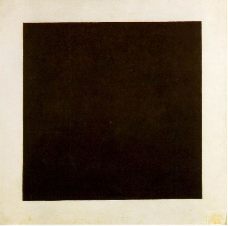 Kazimir Malevitsj, Zwart vierkant, 1915