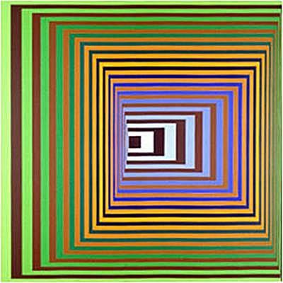 Victor Vasarely, Vonal, 1964