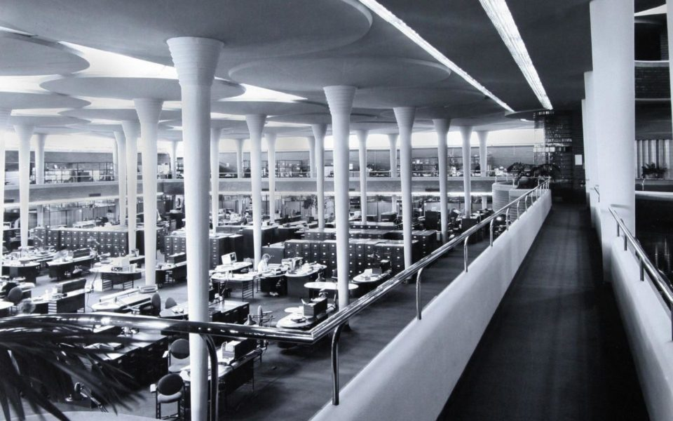 Frank Lloyd Wright - Johnson Wax Office Building