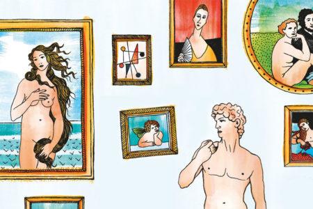 Waarom zijn er zoveel blote mensen in de kunst?