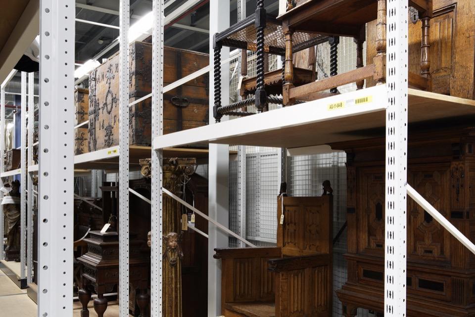 Meubels in de collectie van het Rijksmuseum