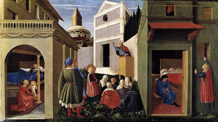 The Story Of St. Nicholas, Fra Angelico, ca. 1447-1448