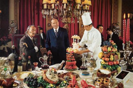 Met Dalí in de keuken
