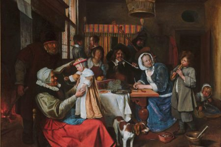 Steen & Jordaens: Zo de ouden zongen...