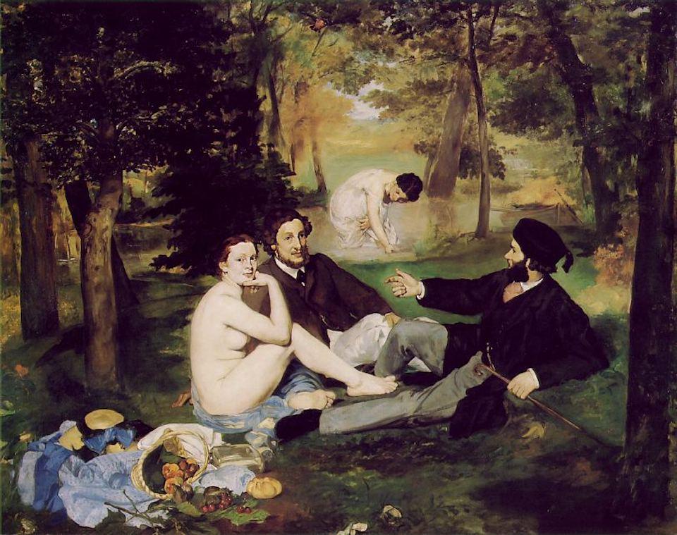 Edouard Manet - Le Déjeuner sur l'Herbe, 1863