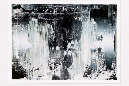 De tweede laag | Handtekeningen van Gerhard Richter