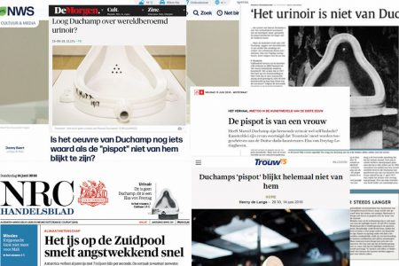 See All This in het nieuws | Duchamp & Fountain