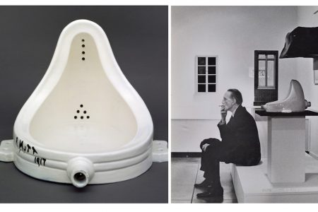 The iconic Fountain (1917) is not created by Marcel Duchamp