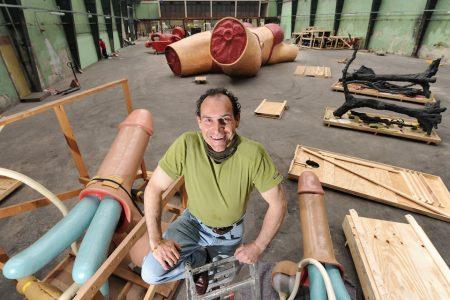 Event | Ontmoet Joep van Lieshout in zijn atelier