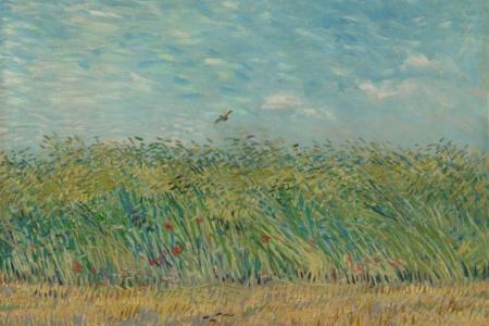 De herfst van het Paradijs   Van Gogh inspireert Jean-Luc Mylayne
