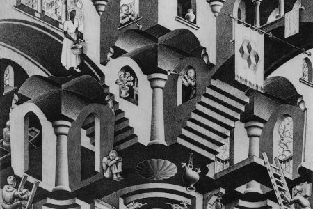 Thuis bij M.C. Escher