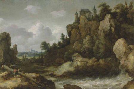 Allart van Everdingen (1621-1675) - Het Ruige Landschap